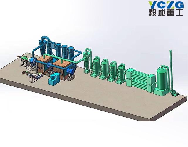 煤沥青热解炭化处理设备