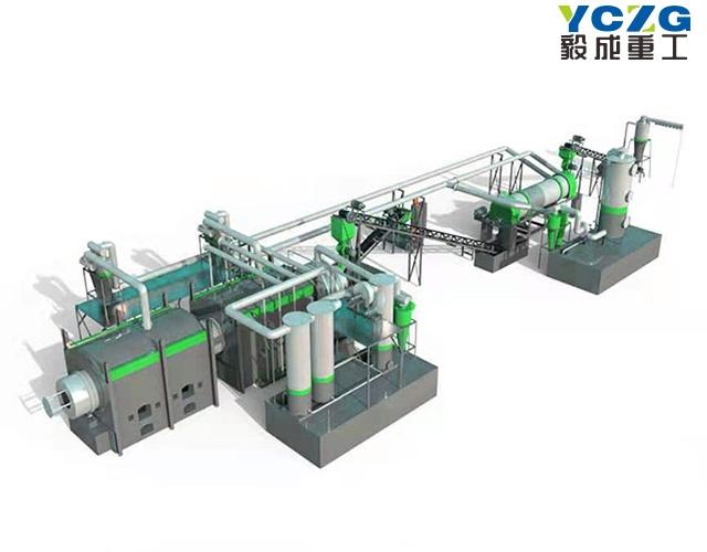 生物质热解炭化处理设备